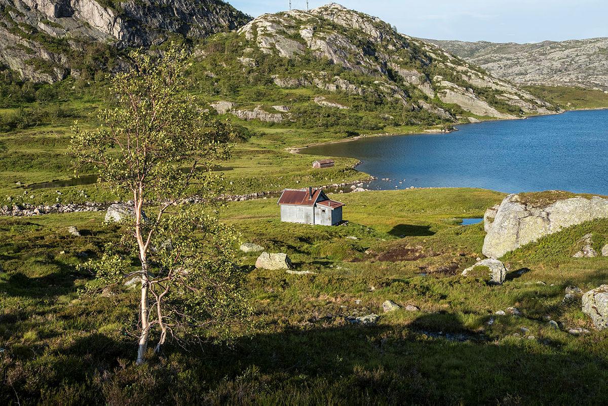 Heibergtunet Grautheller- Her kan du leie hele hytta for deg selv. Plass til 4.