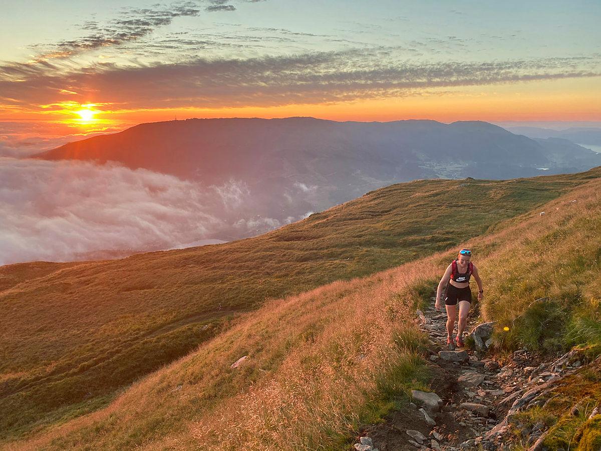 Bergenstrimmen Sør sommer 2020 vinnerbilde fotokonkurranse, på vei til Livarden