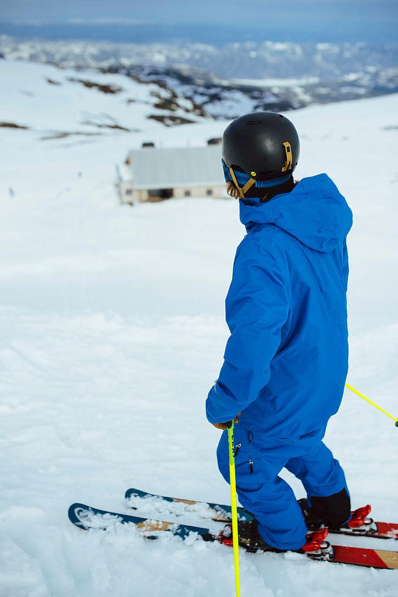 Fantastiske skiforhold på tampen av sesongen.