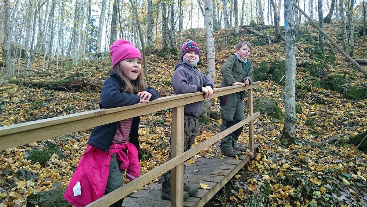 Topptur til Årdalsåsen med Barnas Turlag Porsgrunn