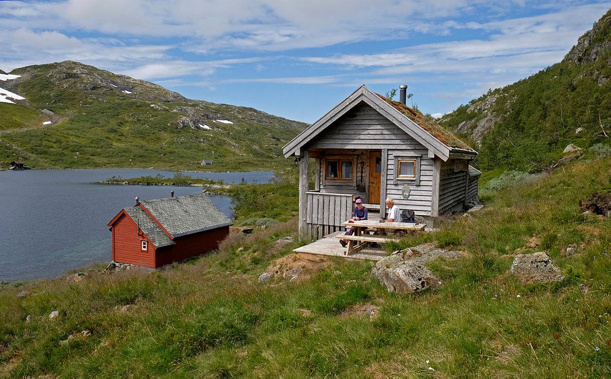 BT-hytten på Vesete.