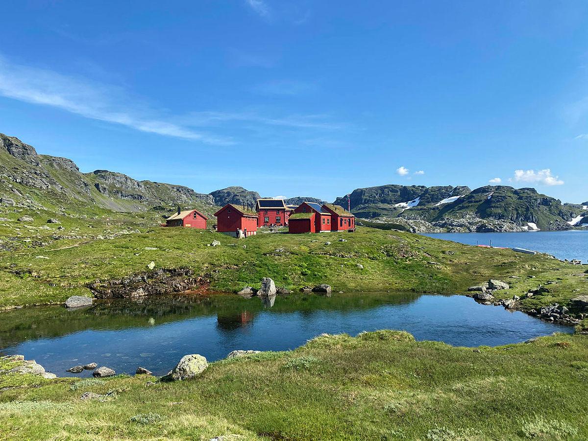 Stranddalen er kåret til en av Norges fineste DNT-hytter!