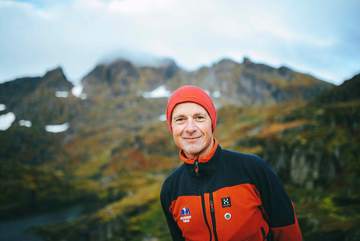 Trond Løkke, styreleder i Vesterålen Turlag