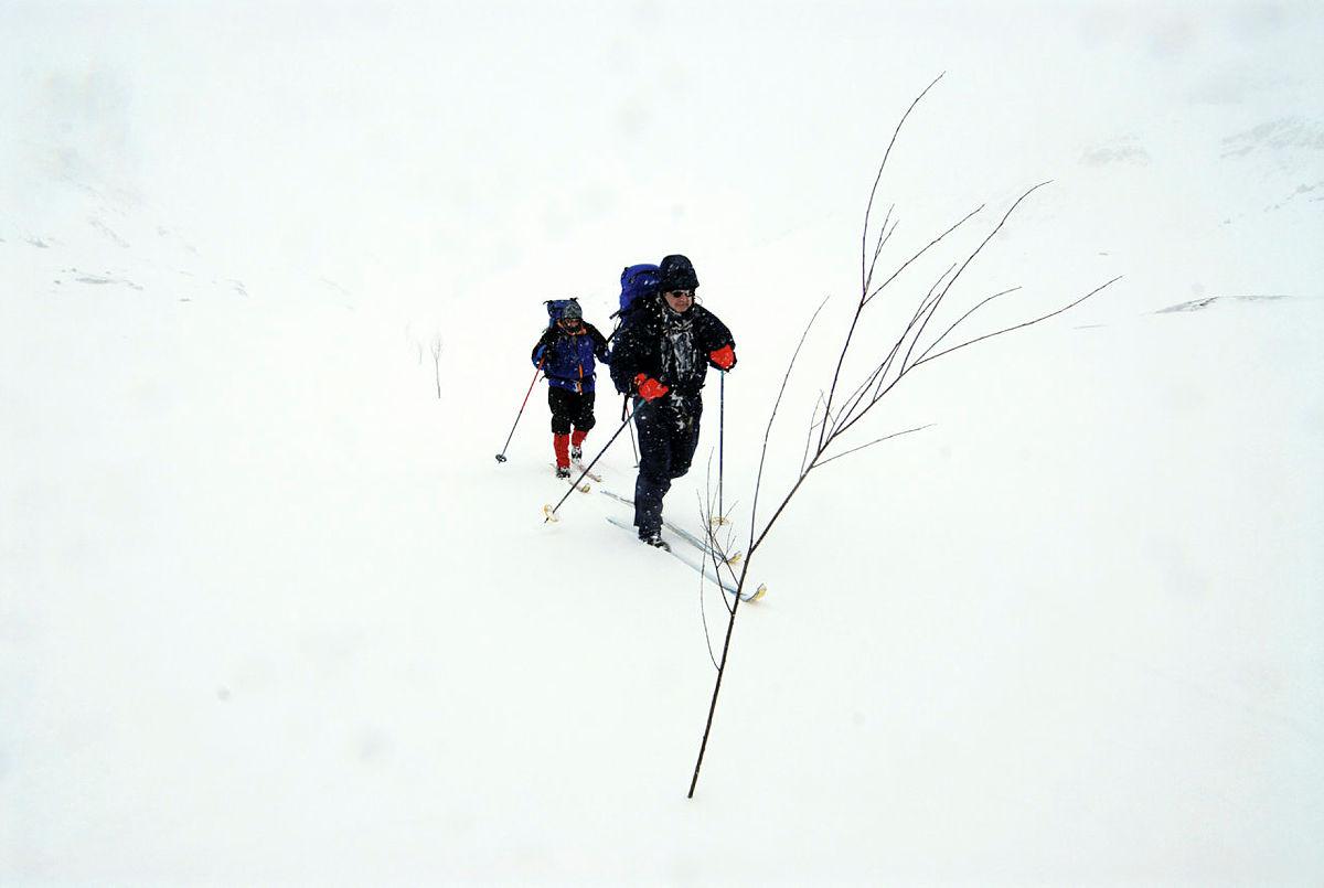 Langs kvistede løyper er du trygg i fjellet.