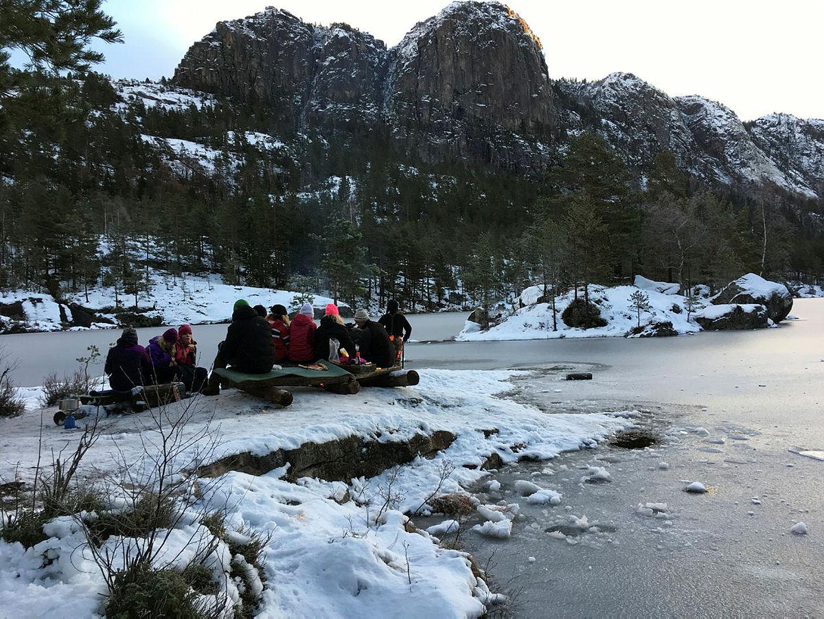 Overnattingstur til Rønnomdalsvannet