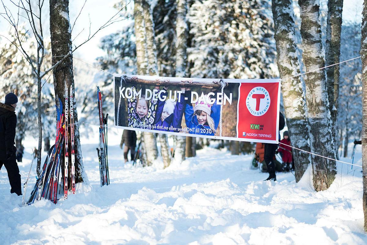 Kom deg ut-dagen på Sognsvann i Oslo. Utebursdag 2018.