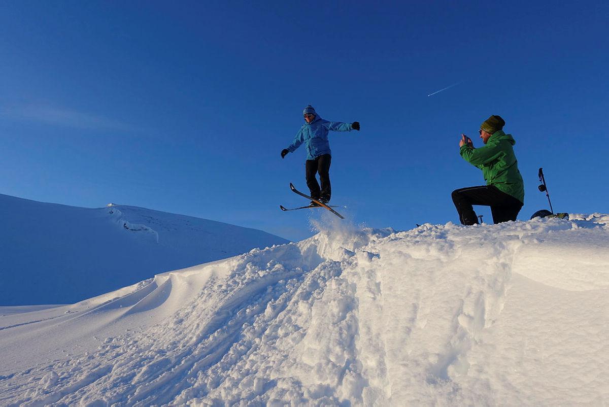 Skitur til Vending med DNT ung Bergen mars 2019