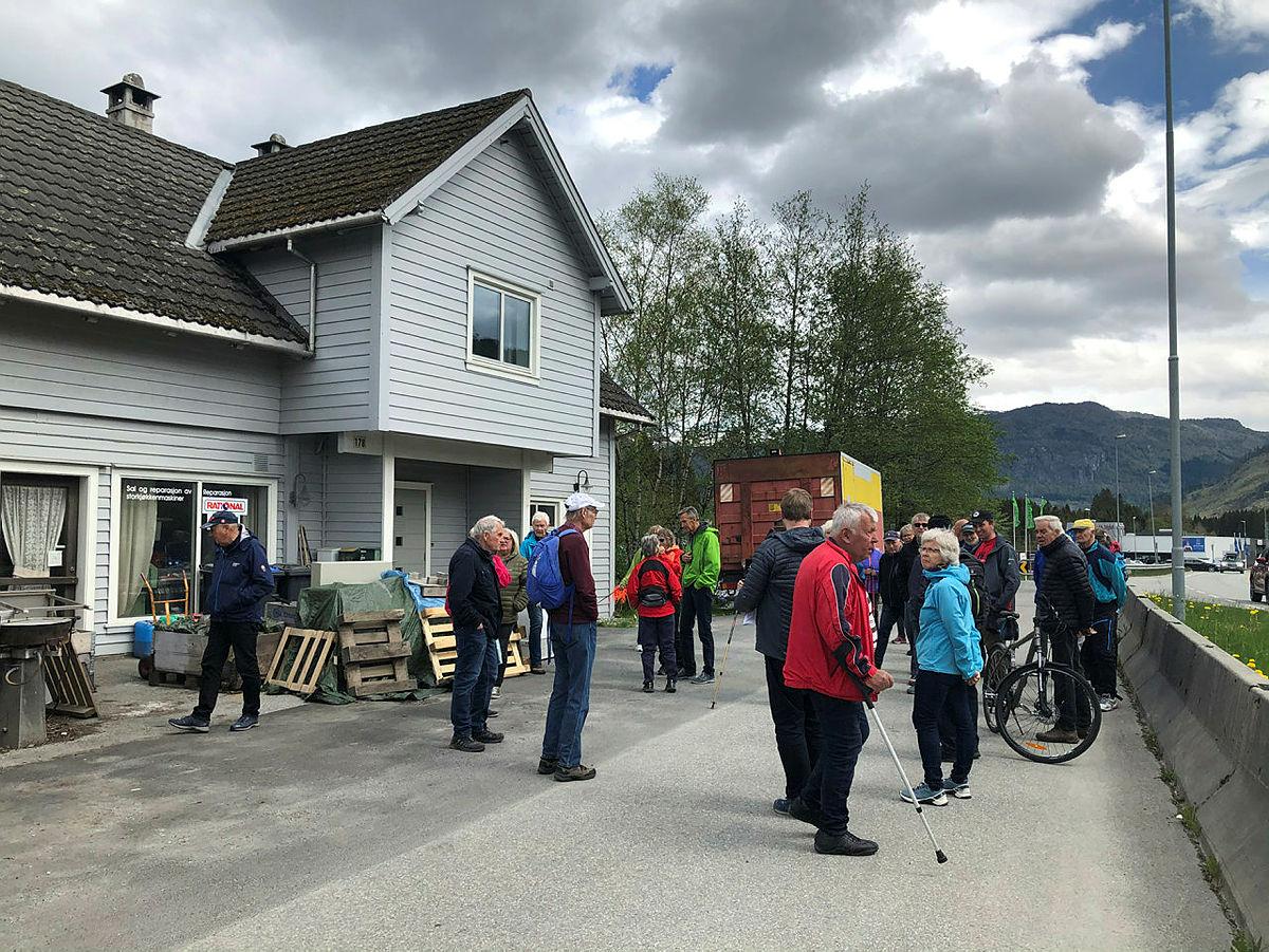 Lågterskeltur på Palmafossen med Voss Sogelag