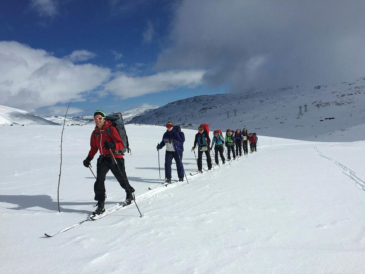 DNT-tur på Hardangervidda.