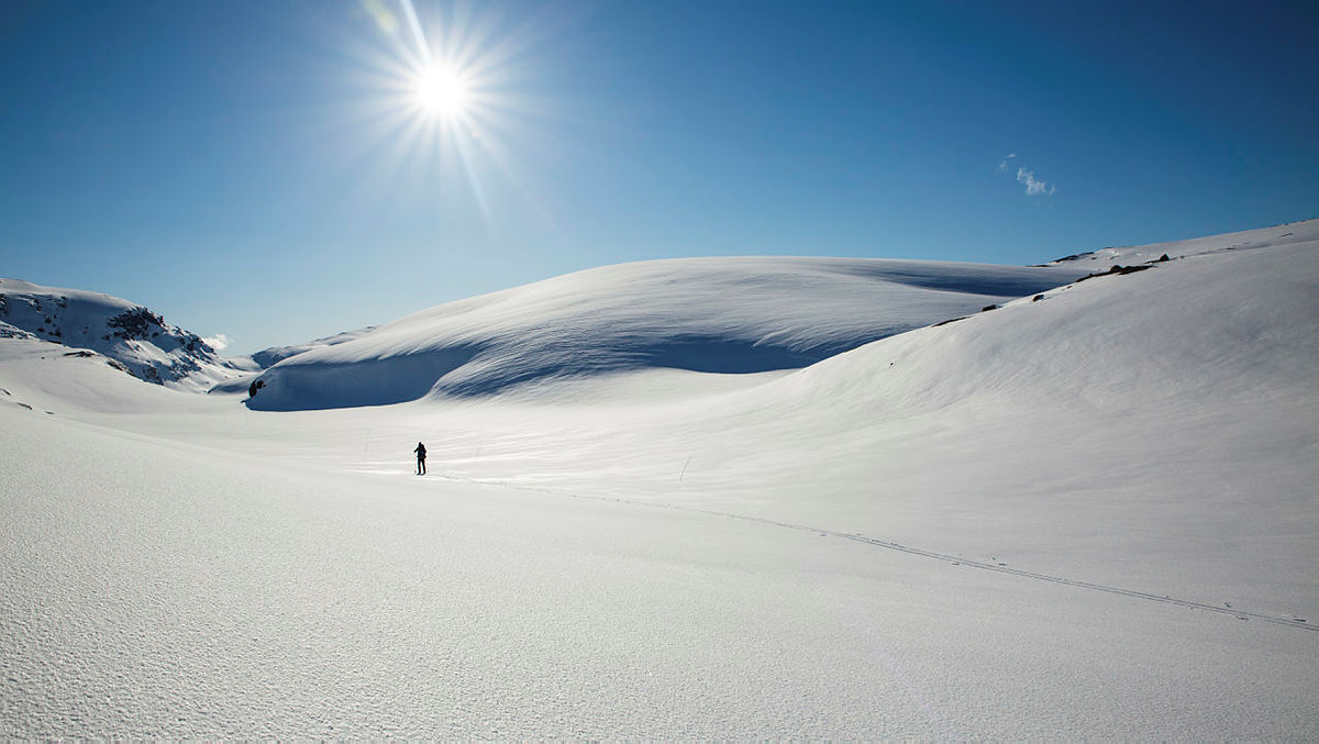 Siste strekk ned mot Stavali, rett før du kommer til Lonevatn, er bare helt nydelig.