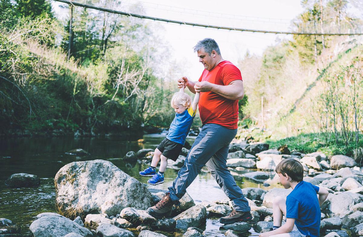 Hyggelige aktiviteter for barnefamilien