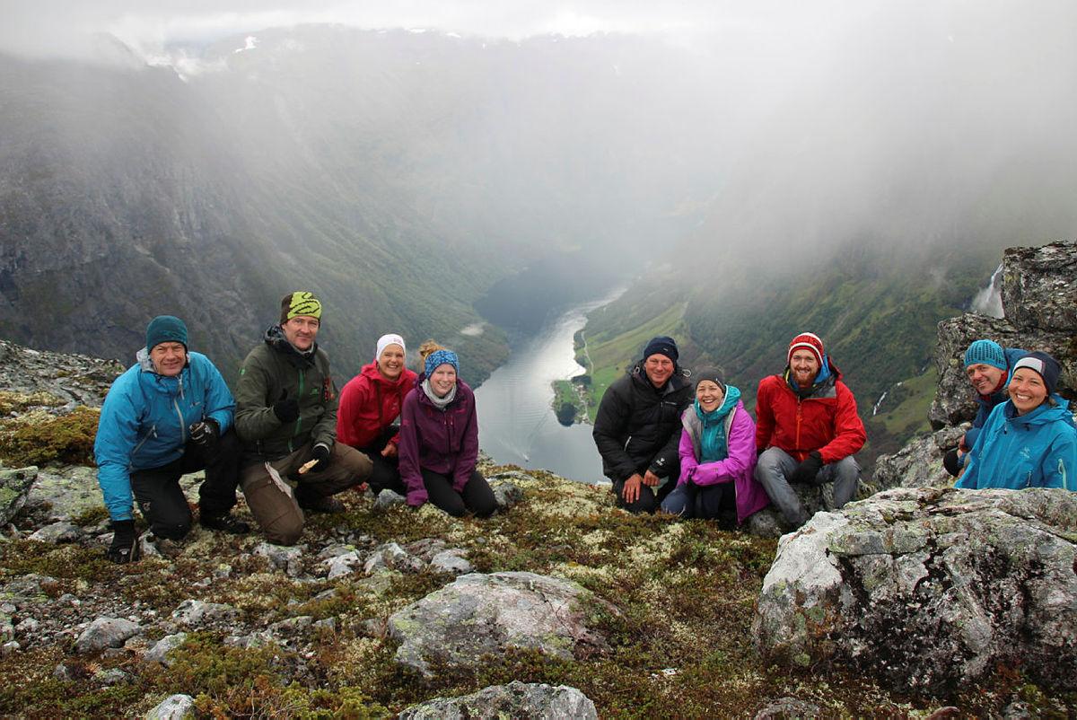 Nærøyfjorden DNT fjellsport Bergen