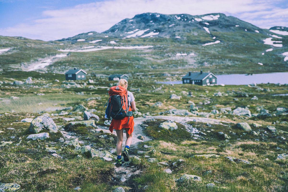 Hellevassbu på Hardangervidda.