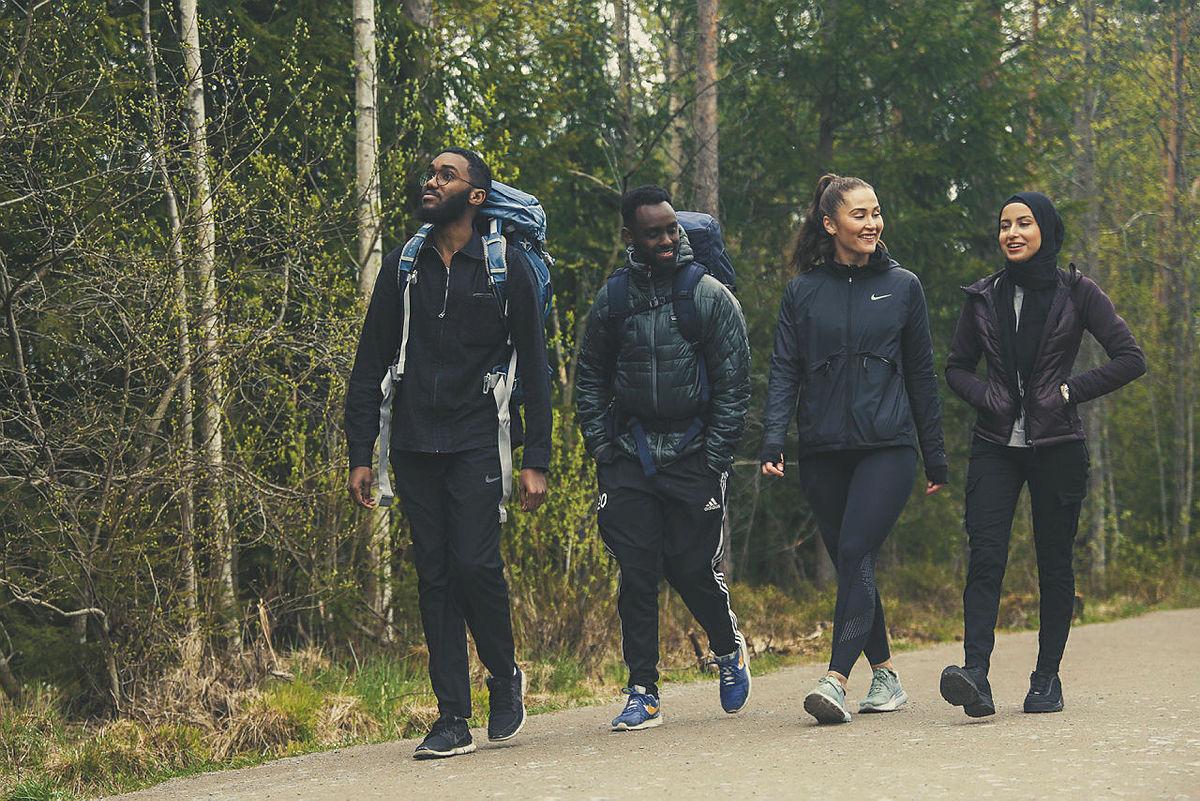 På tur i Nordmarka.
