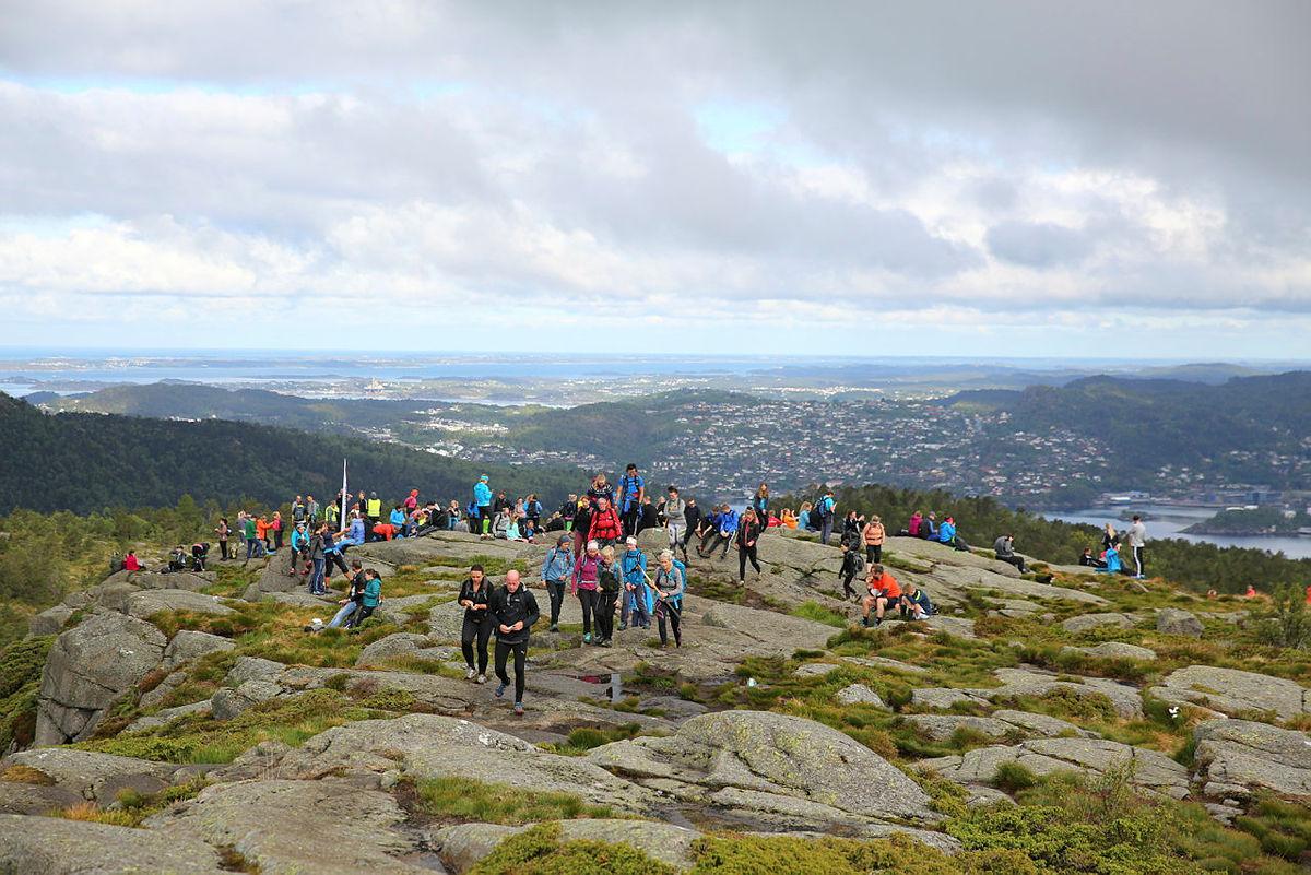 7-fjellsturen: Turlaget og Damsgårdsfjellet