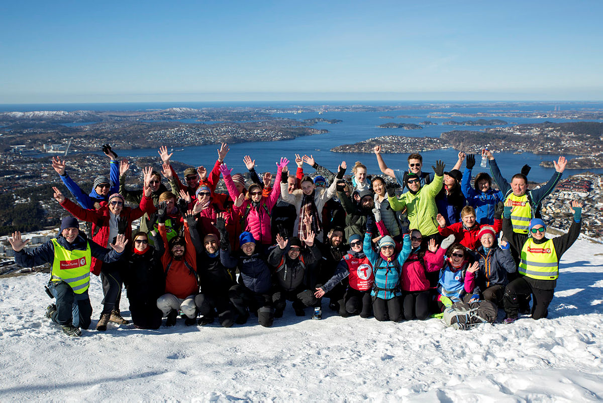 Byfjellstrimmen og Til Topps 18.mars 2018