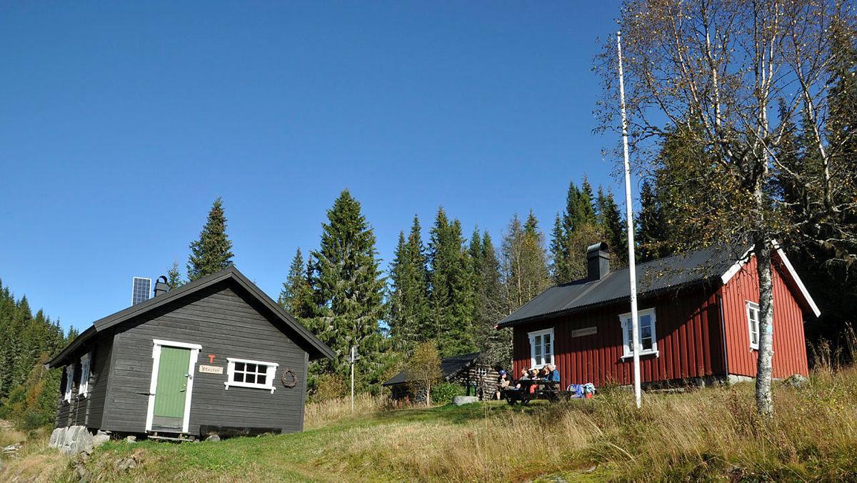 Ledige hytter hos DNT Telemark!