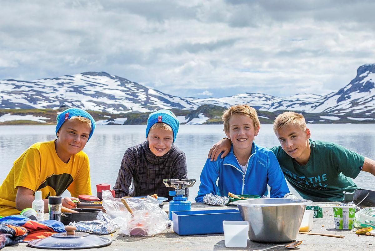 Sommercamp på Haukeli