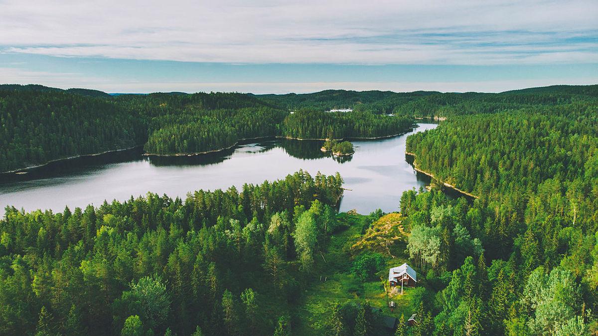 Bøvelstad er en av 7 DNT-hytter i Østmarka