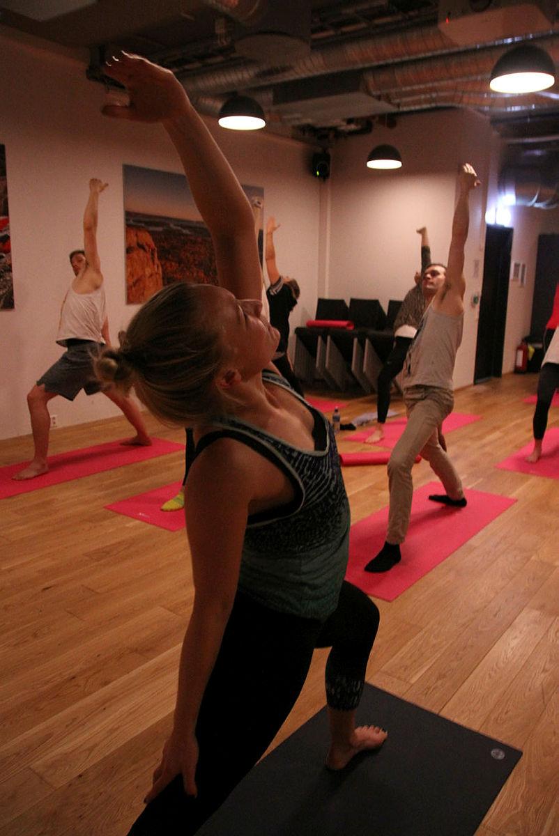 Yoga kan bidra til styrke og balanse i både kropp og sinn.