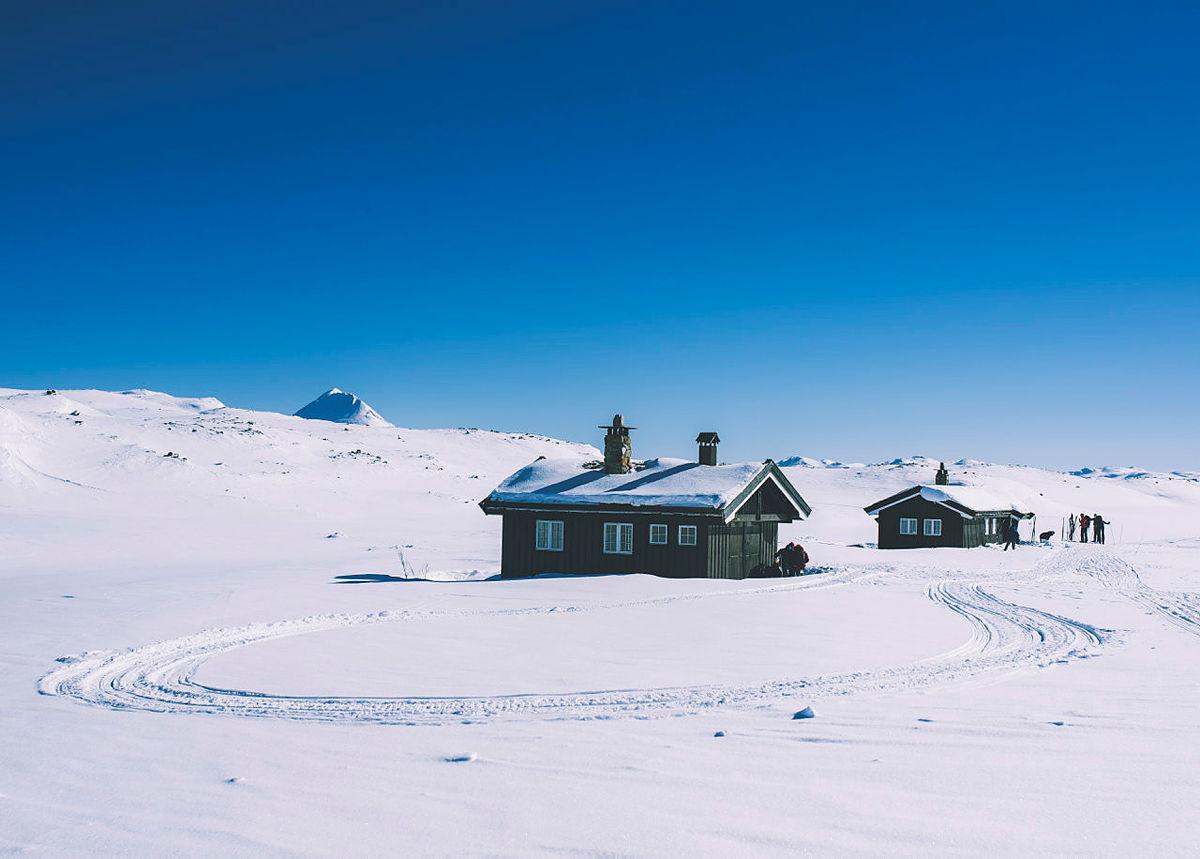 Få Helberghytta for deg selv i vinter