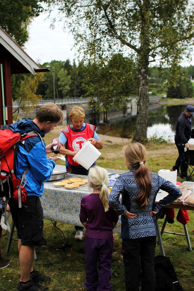 Kom deg ut-dagen, Siljan i Telemark.