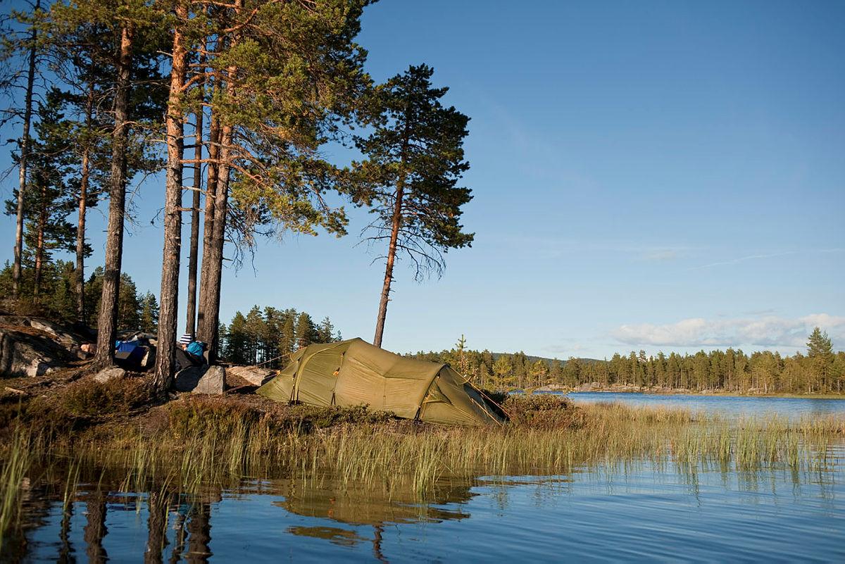 Bilder fra kanotur på Fjorda.