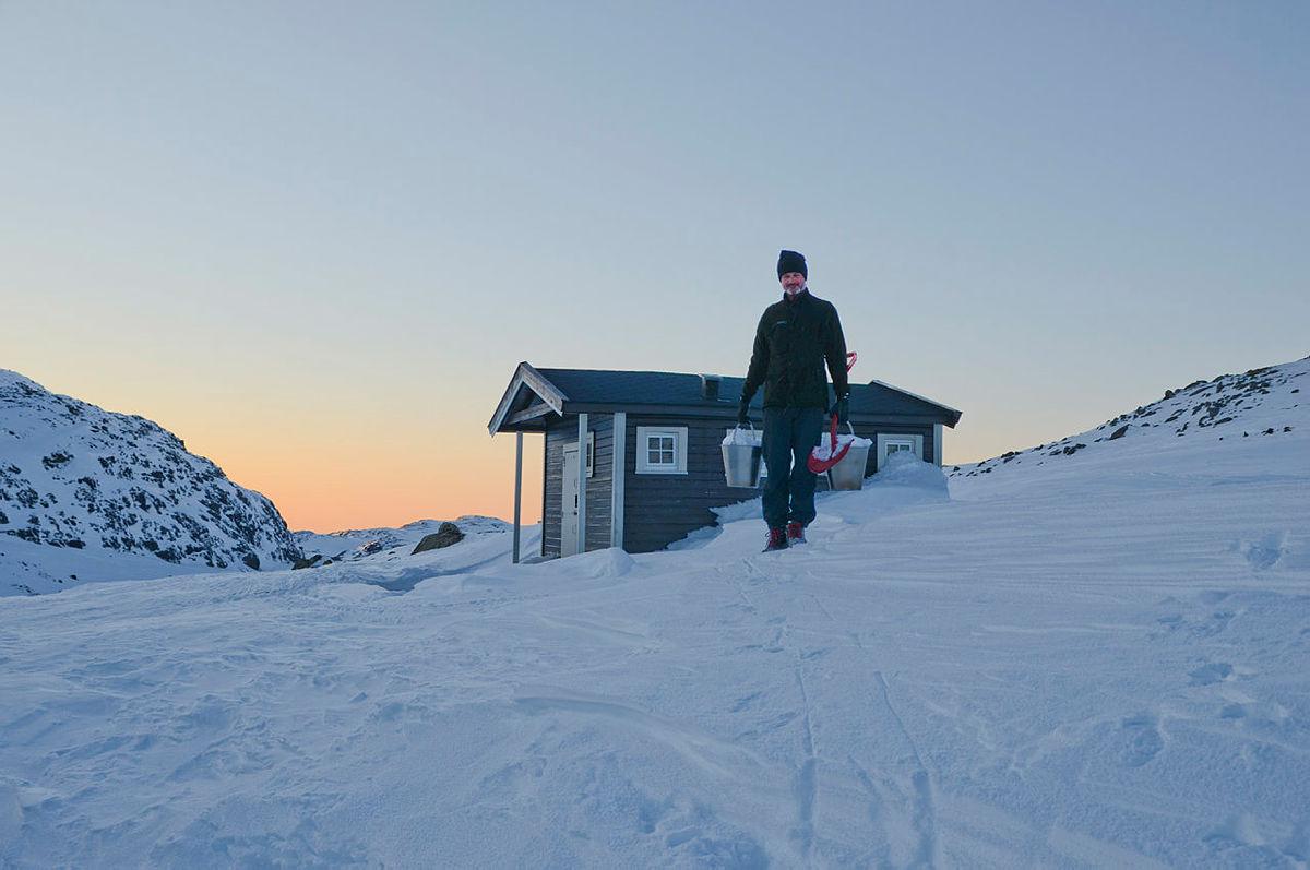 Tur fra Breistølen til Finse i Skarvheimen uka etter påske i 2013.