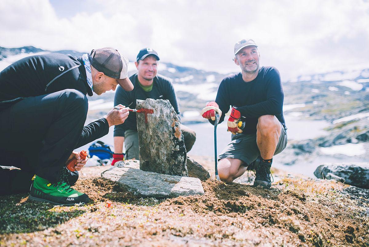 UNIKT: Lokale ildsjeler gjør hvert år en fantastisk innsats for at vi skal kunne gå trygt i fjellet.