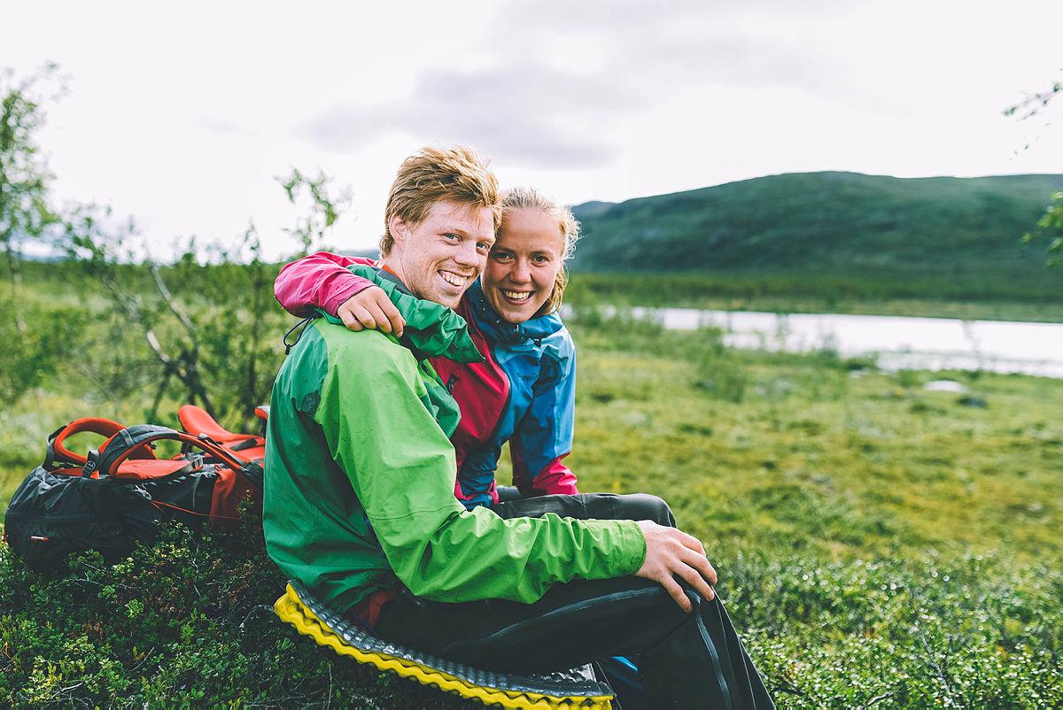 Siste uken av NRKs sommersending i 2018 gikk gjennom Indre Troms og bildet er tatt like ved grensen mot Sverige og Finland. Frode Hals og Amalie Fjellsøy;