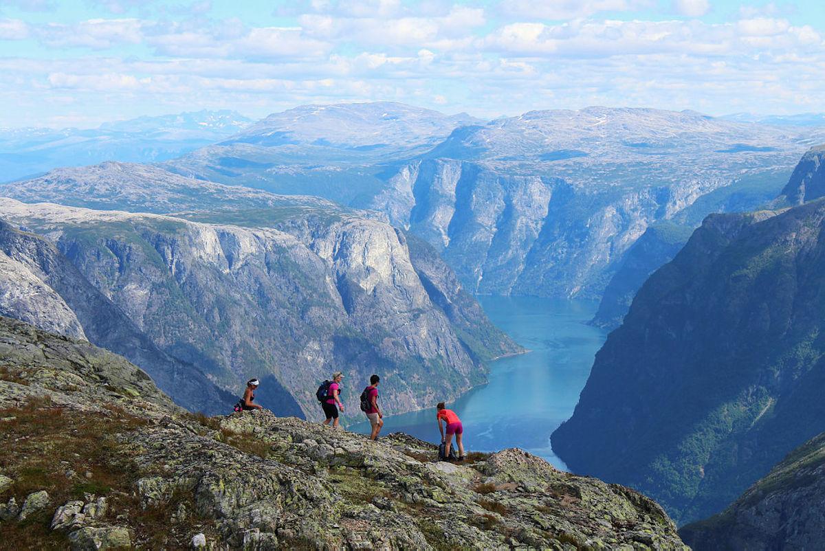 Nærøyfjorden, 2015.
