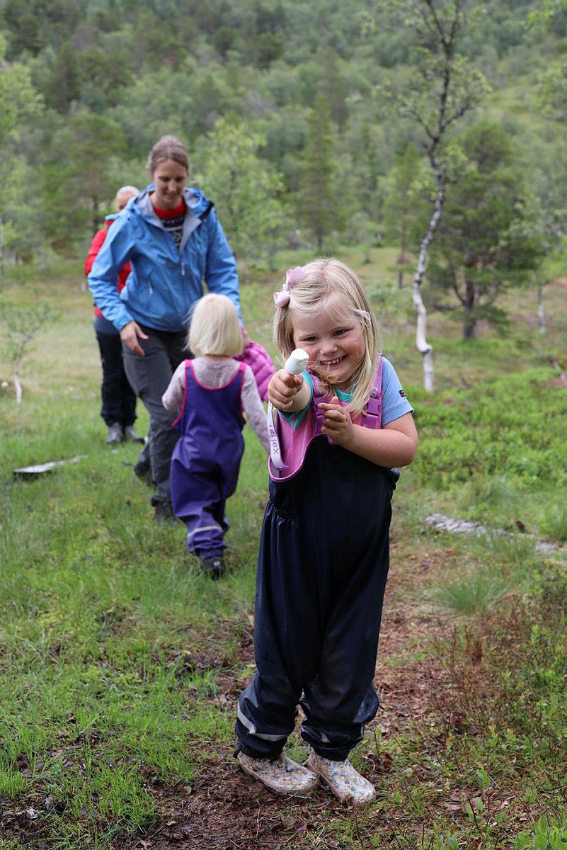 Marshmallows-tur ved Jonstølen turisthytte gir mye turglede!