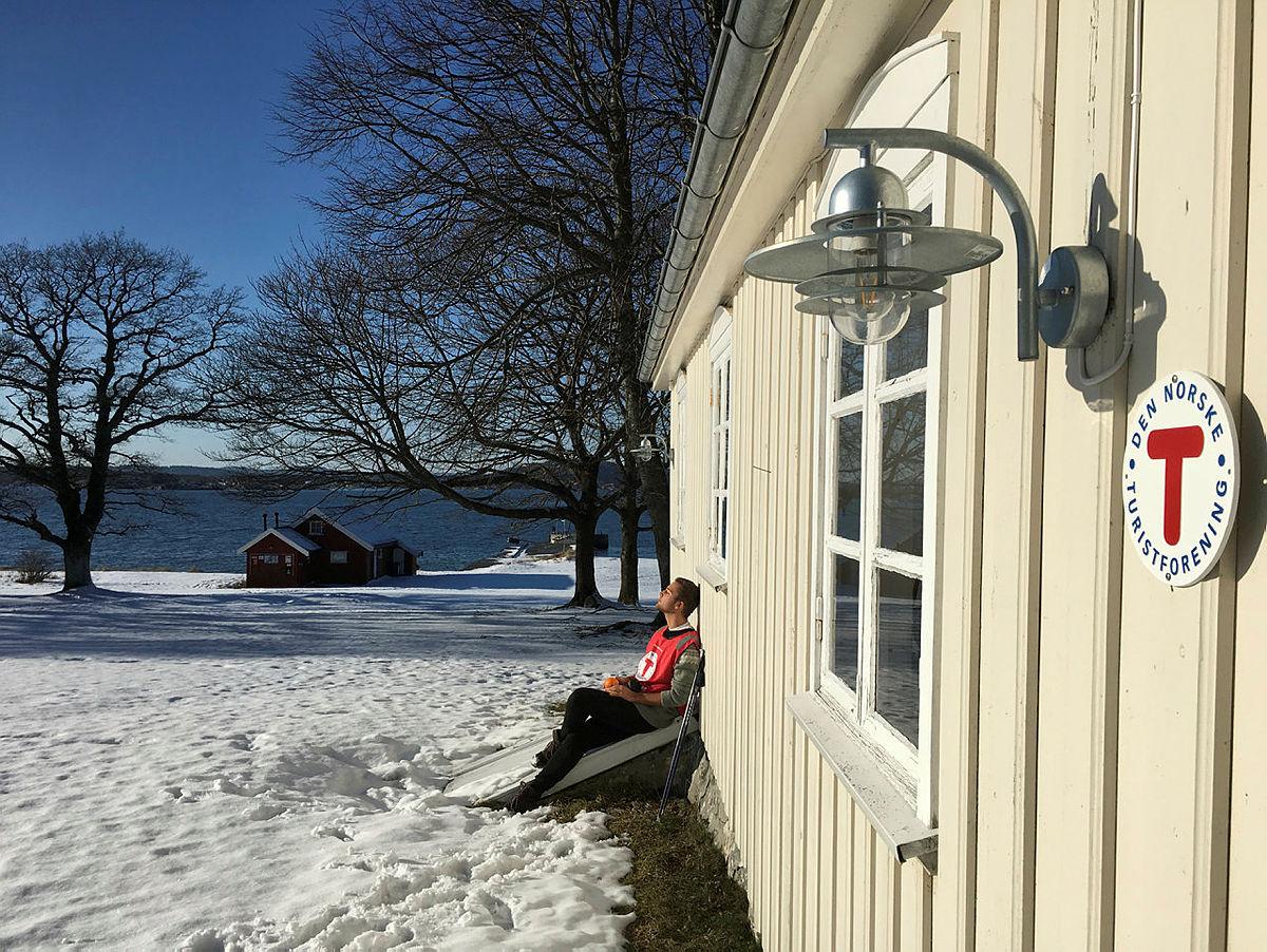 Vinter ved Øitangen.
