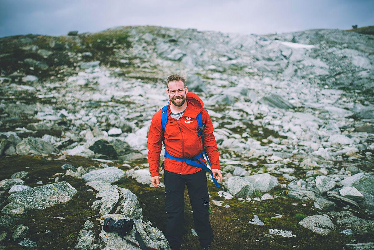Andre uken av minutt for minutt gikk fem dager gjennom Jotunheimen. Bildet er fra første etappe fra Bøvertun til Sognefjellshytta hvor man også var innom Breheimen.