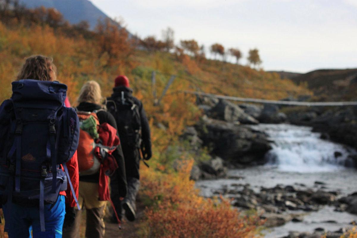 Bilder fra sommerturlederkurs i september 2017 i regi av Troms Turlag. Kurset foregikk i Rostadalen og målgruppa var DNT ung.
