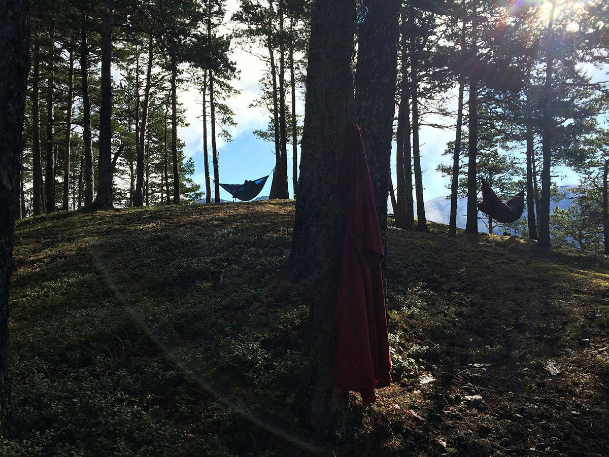 DNT ung tur med buldring og overnatting på Einang