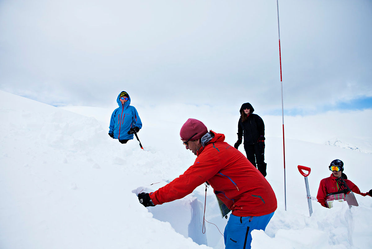 Basecamp på Fivla påsken 2014 med Sogn Turlag og DNT Ung Sogn.