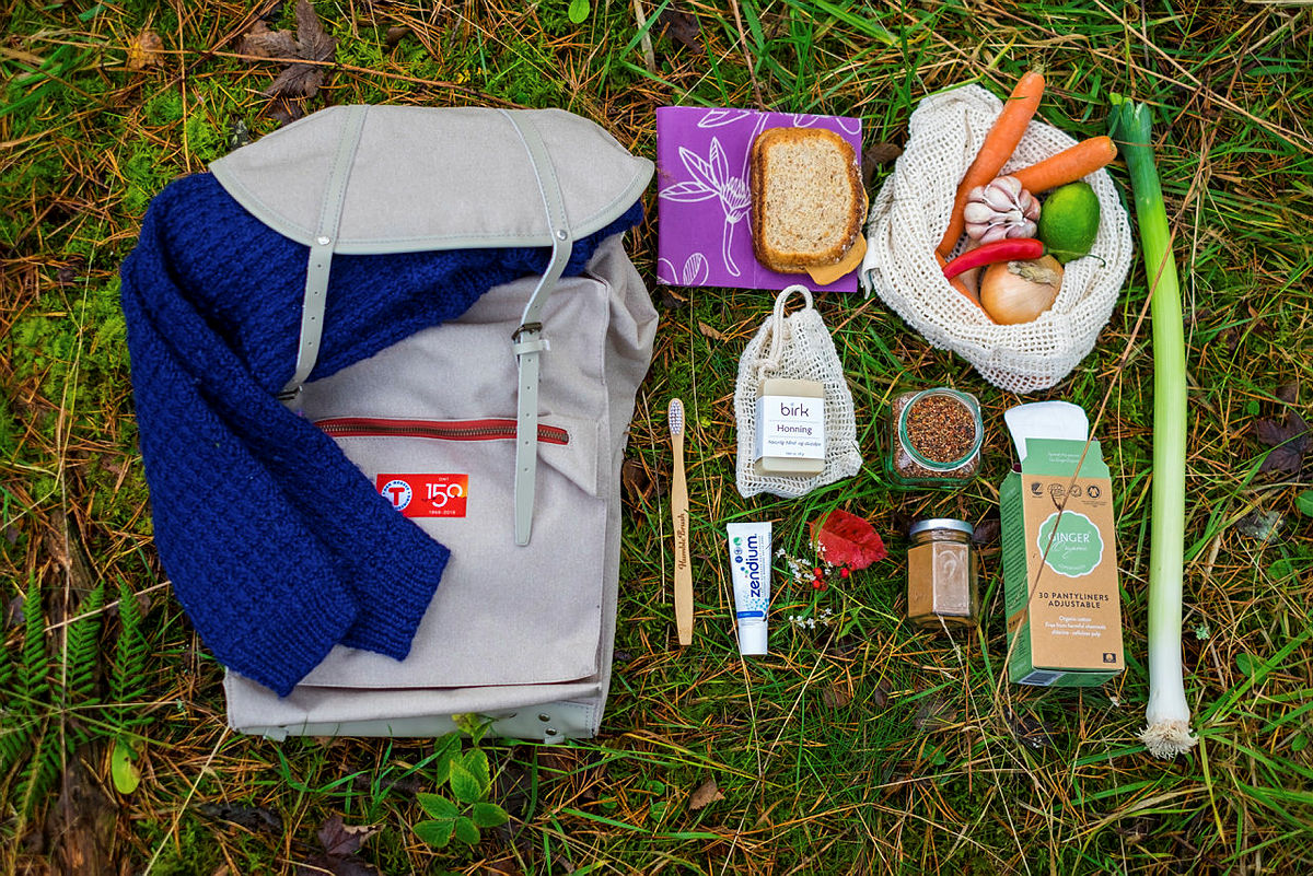 6 tips til et mer miljøvennlig innhold i tursekken!