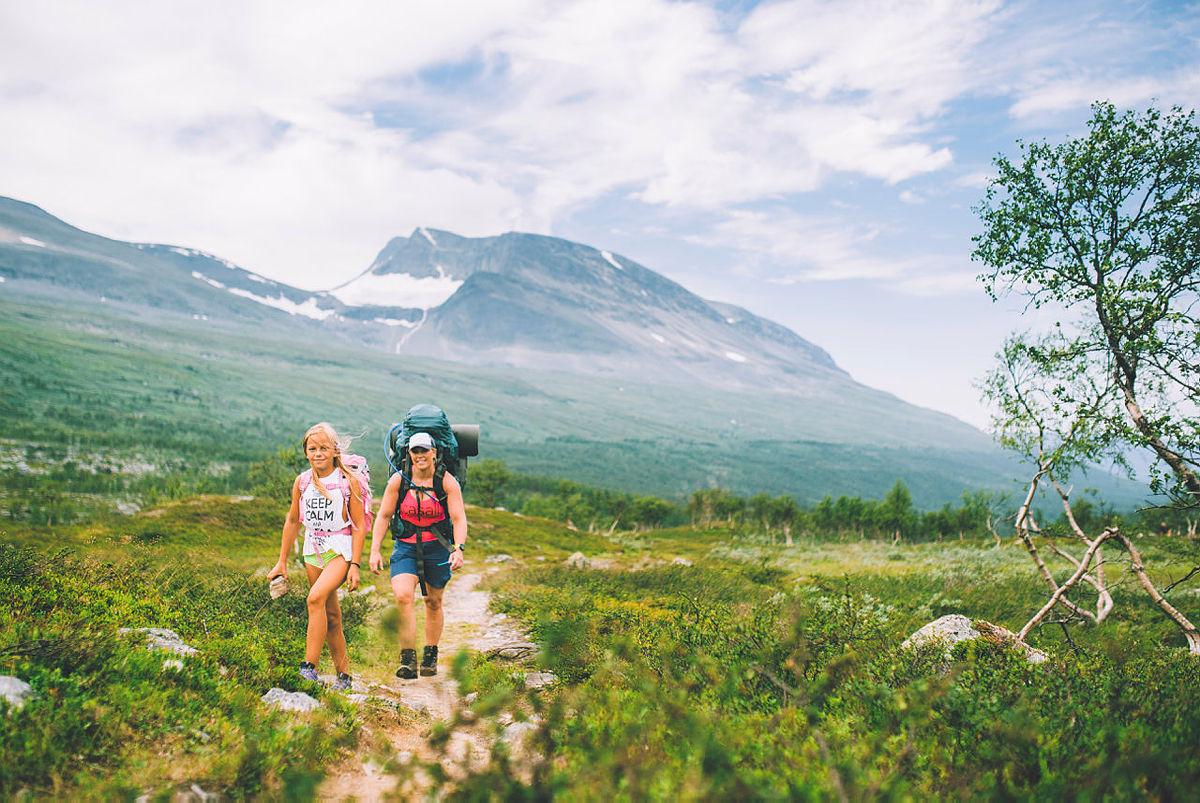 Siste uken av NRKs sommersending i 2018 gikk gjennom Indre Troms via både Sverige og Finland. Her fra første etappe mot Isdalen.