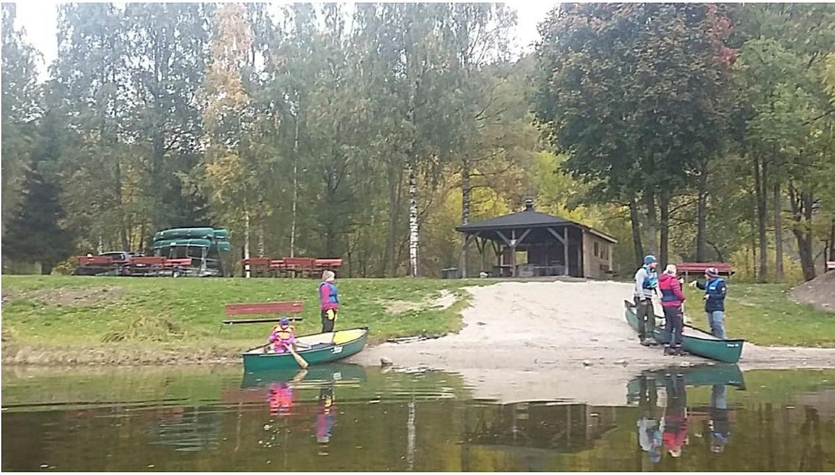 Kanotur og gåtur på Skotfoss lørdag 6. oktober.