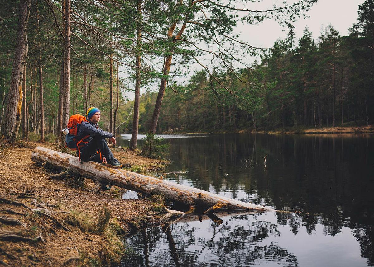 Fisketur til Selhamar turisthytte i Stølsheimen, 14.9.16.