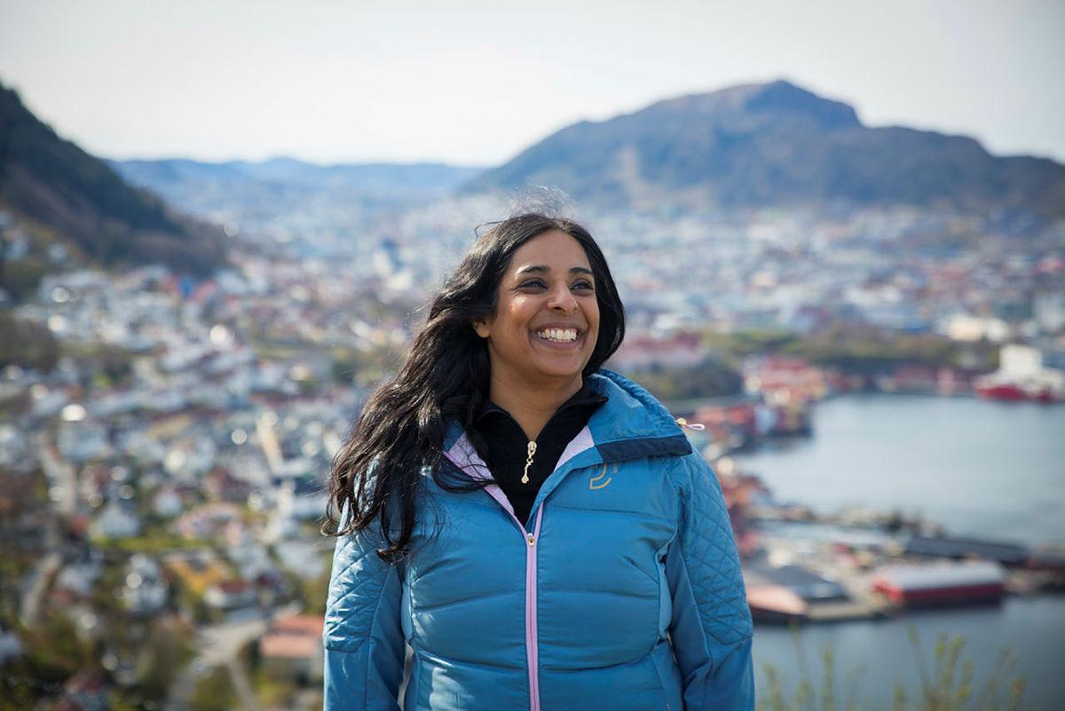 Lubna Boby Jaffery er byråd for arbeid, bolig og sosial i Bergen kommune.