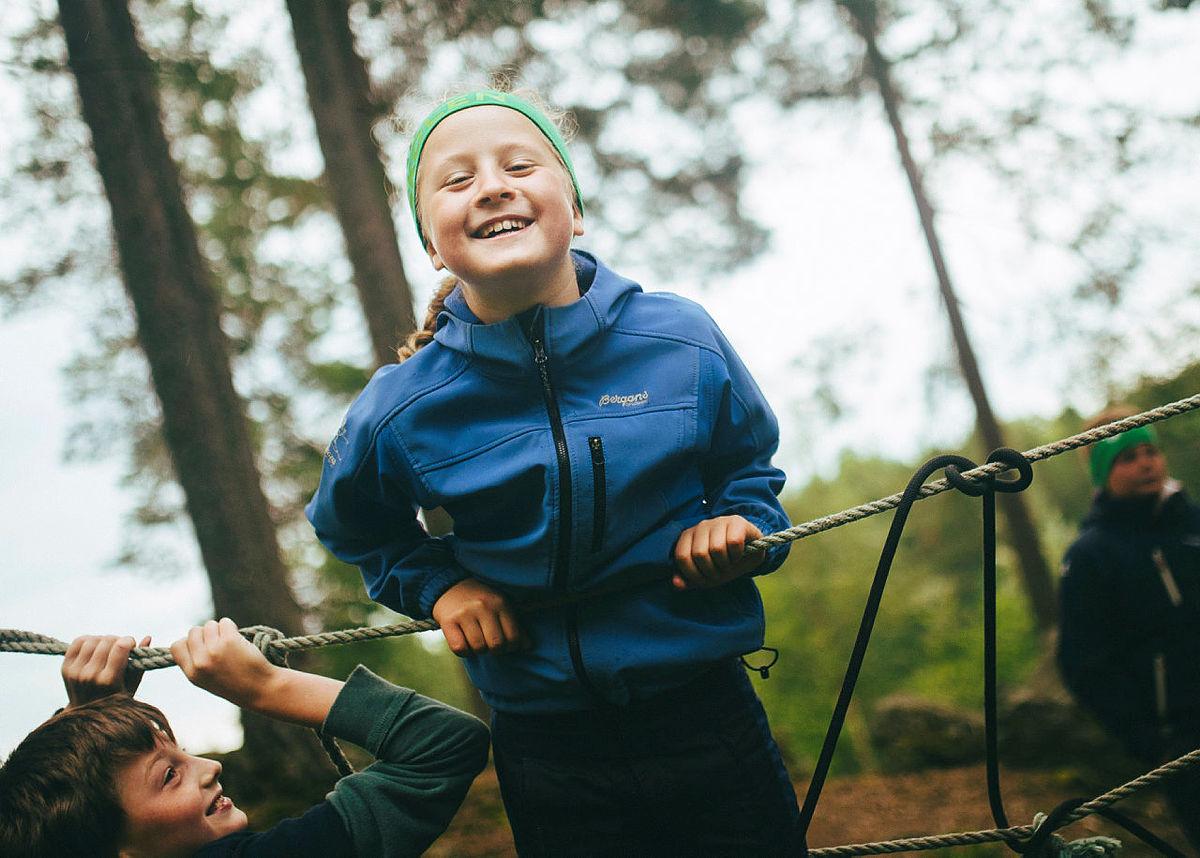 Friluftscamp for barn og unge