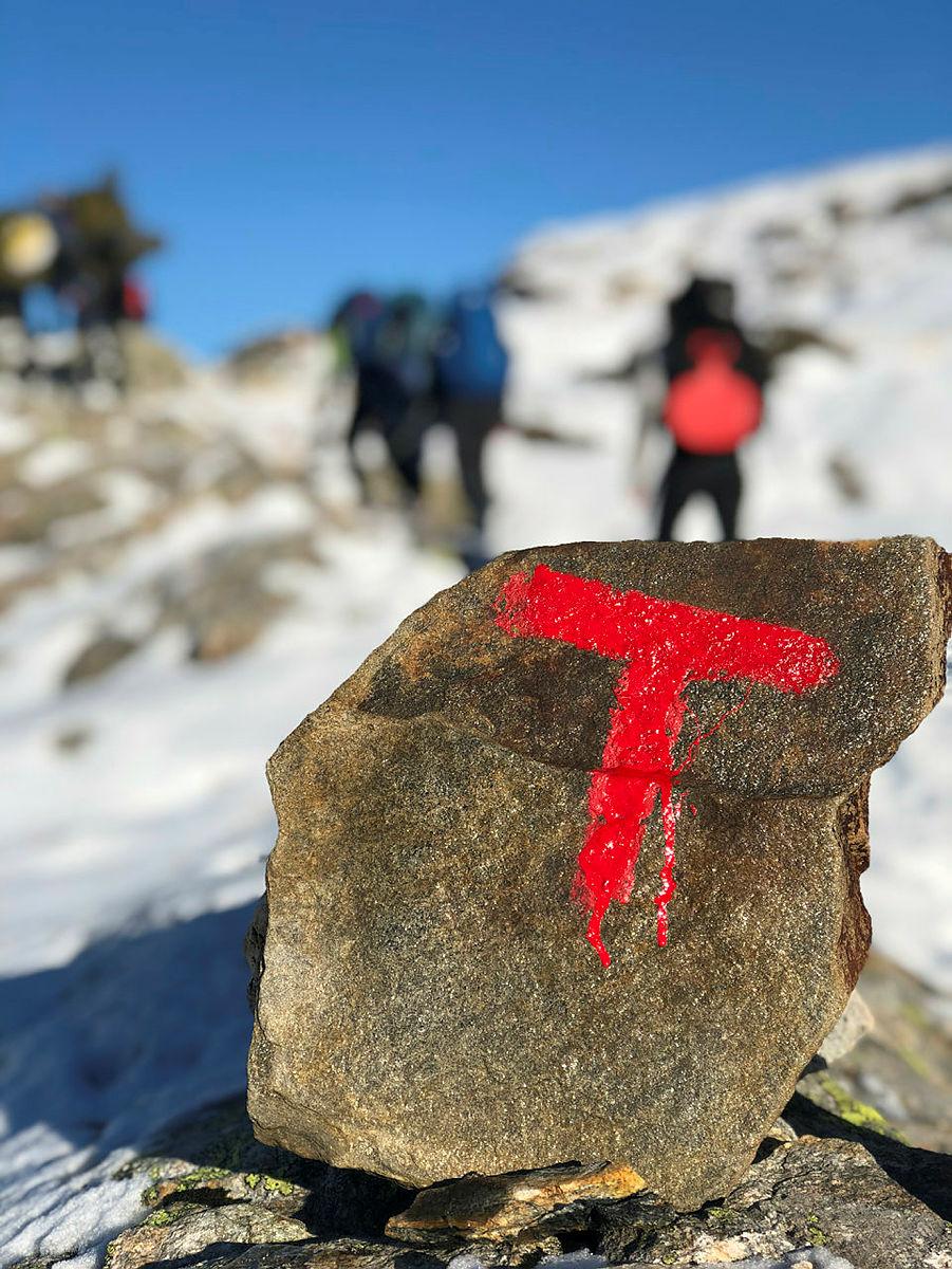 Hyttetur til Gullhorgabu med DNT ung Bergen høst 2018
