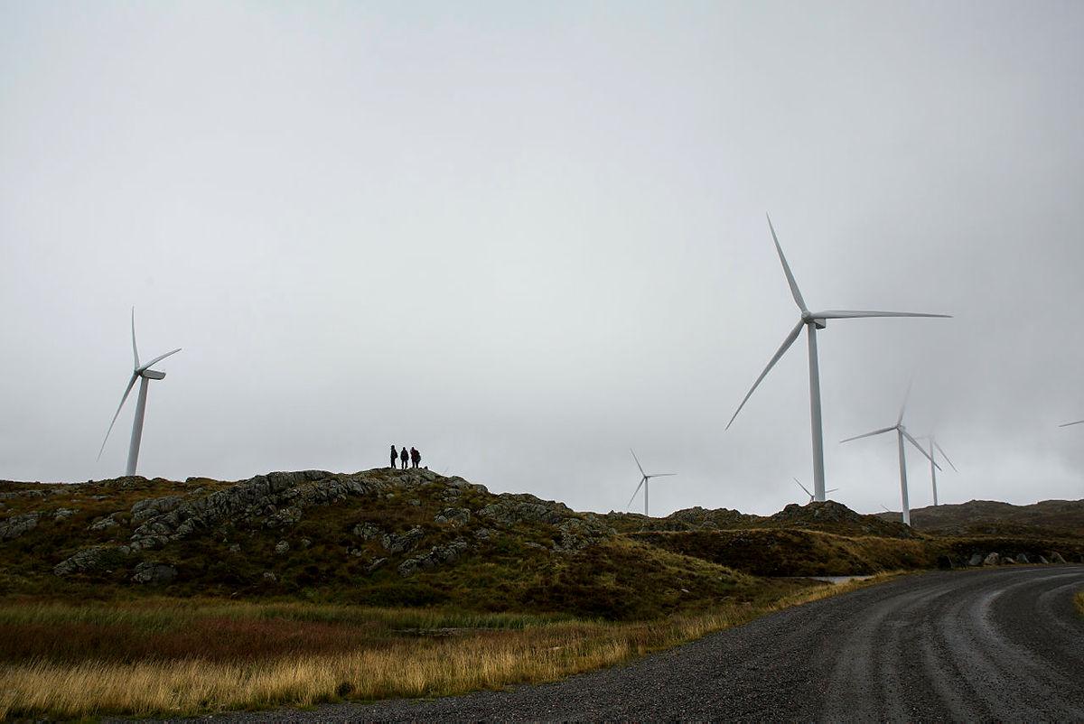 Økende vindkraftmotstand
