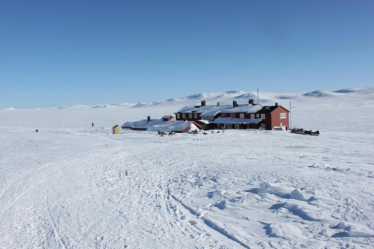 Våre hytter i vinter