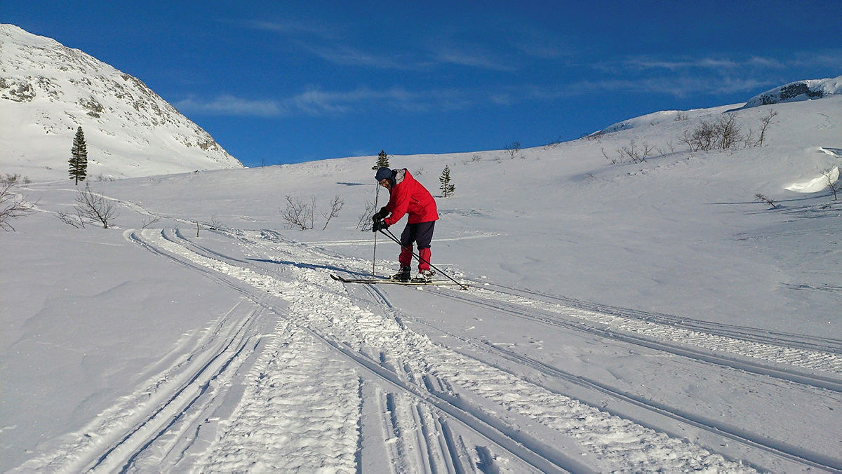 Snøbruer på plass i Øvsthusdalen