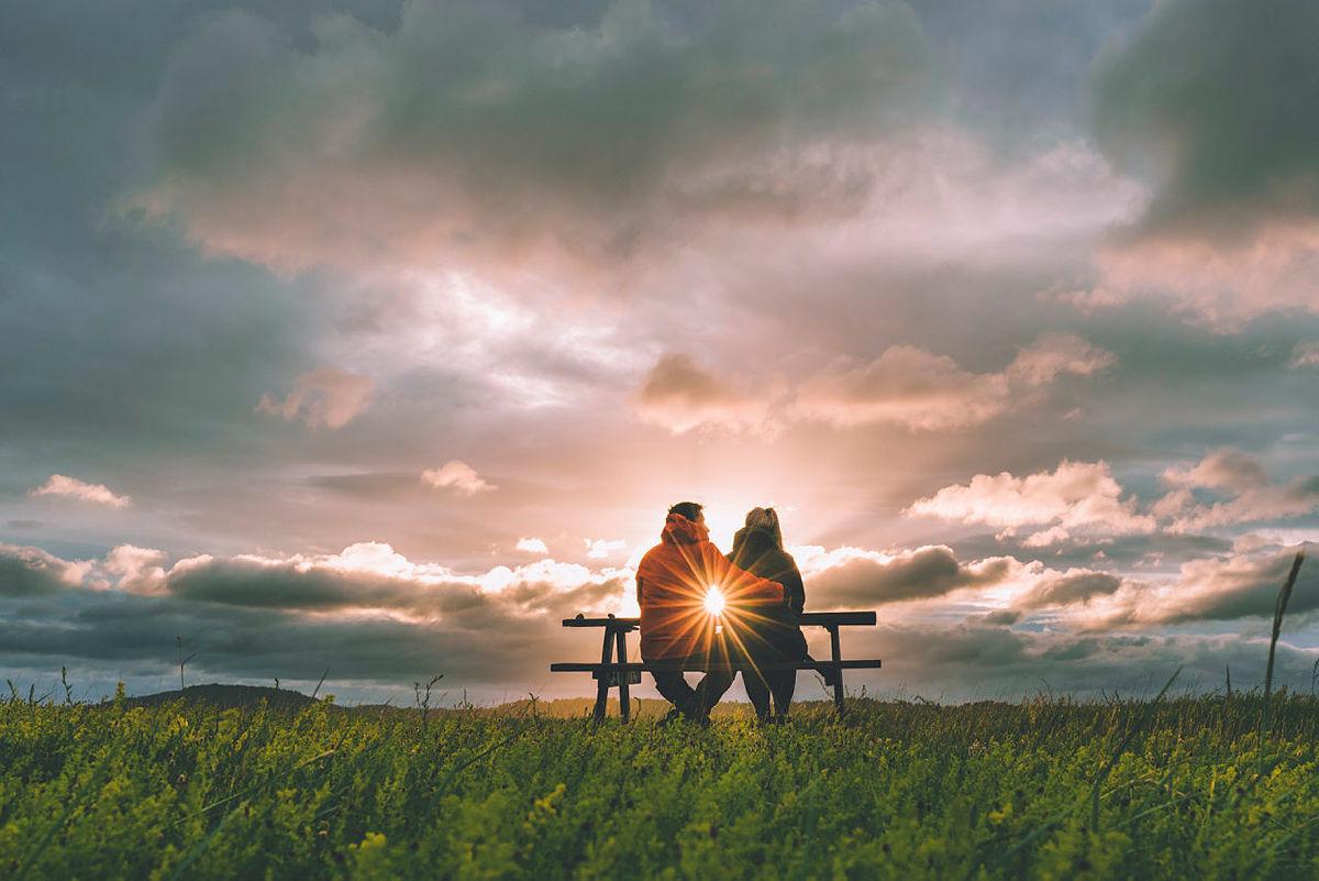 Kjærlighet en høstkveld ved Øitangen.
