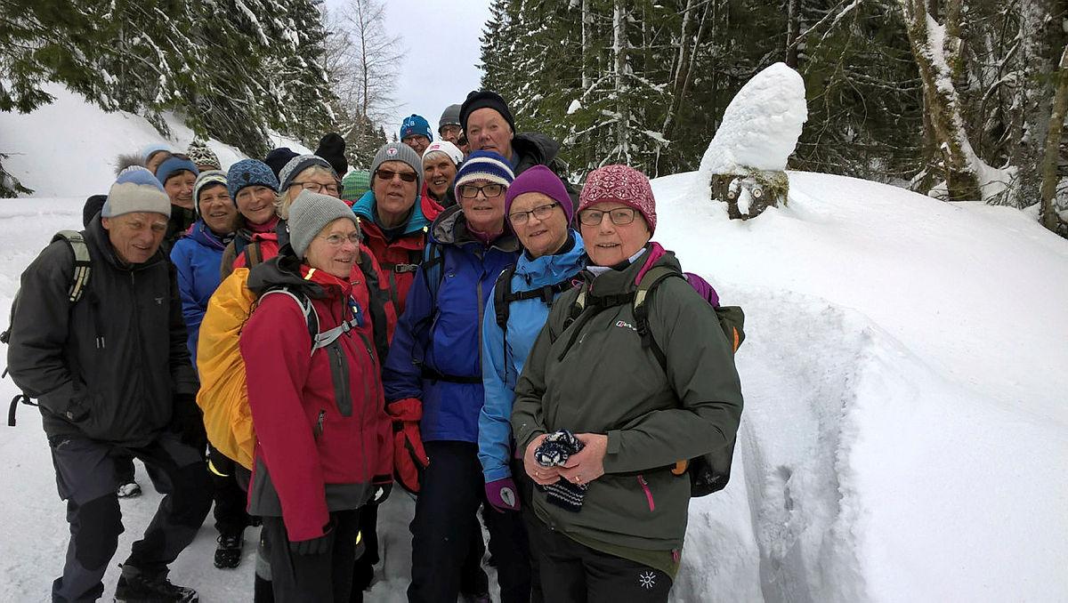 Turgruppa Ut på tur Lier på vintertur