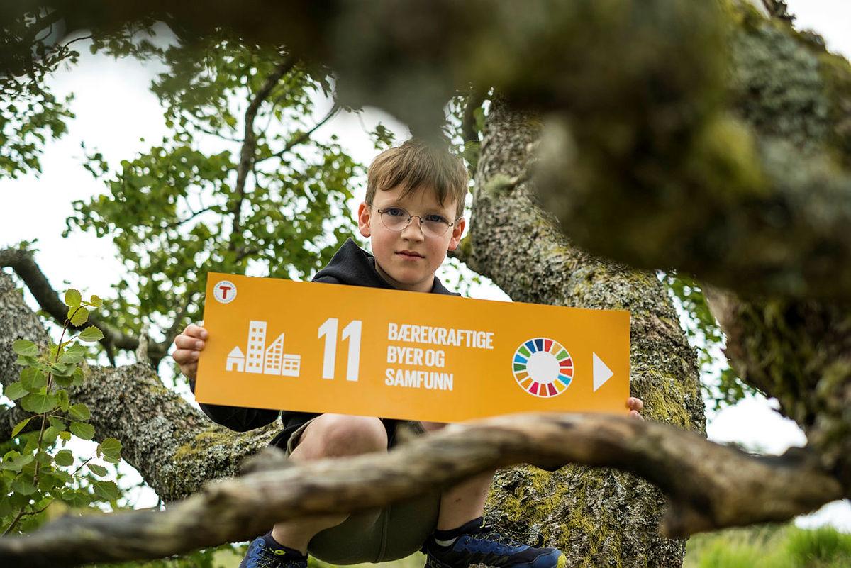 Bærekraftslekene er et kortreist og bærekraftig aktivitetstilbud som gis til alle familier i sommer!